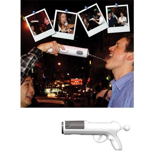 Pistola spara bevande alcolici per feste party