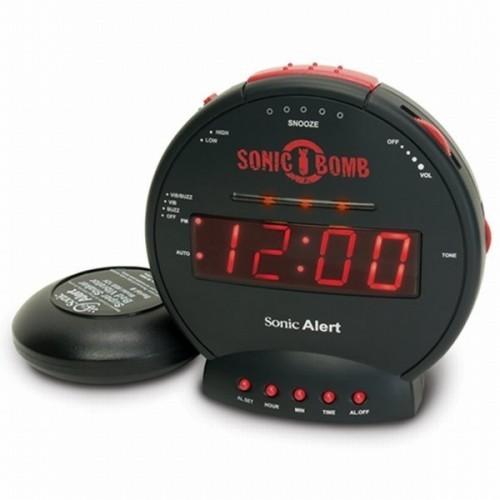 Orologio Sveglia BOMBA SONICA con dispositivo Vibrante