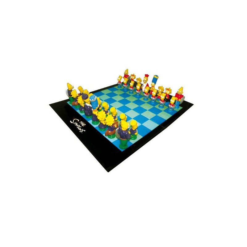 SIMPSONS scacchi 3D scacchiera completa