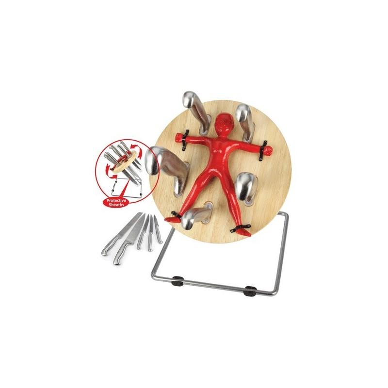 Set Coltelli da cucina Lanciatore di coltelli