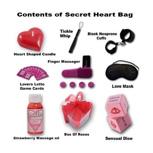 Borsa cuore dei segreti regalo SAN VALENTINO