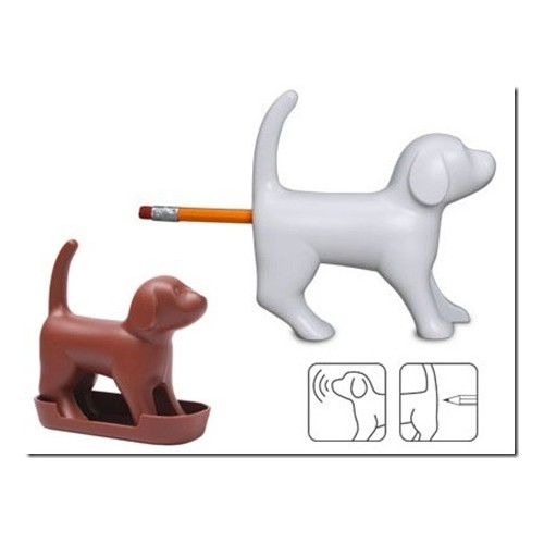 Temperamatite cane design scrivania