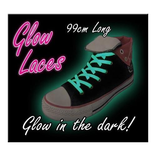 Stringhe fluorescenti illuminano al buio