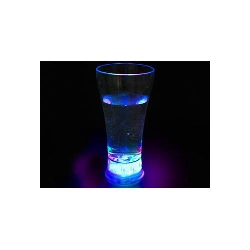 Boccale di birra luminoso con luci stroboscopiche