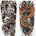 Maniche Tatuaggio finti TATTOO