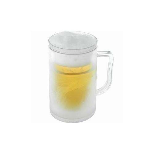 Boccale birra ghiaccio bicchiere refrigerante