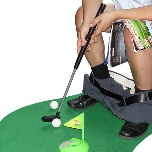 Golf da toilette (a.k.a. cesso)