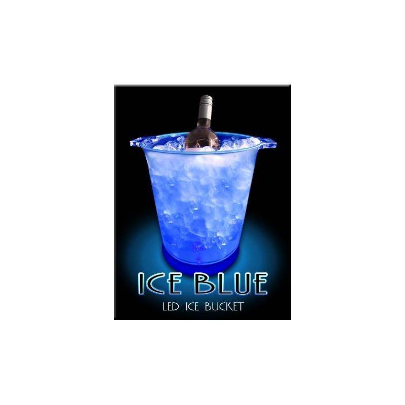 Secchiello portaghiaccio luminoso blu