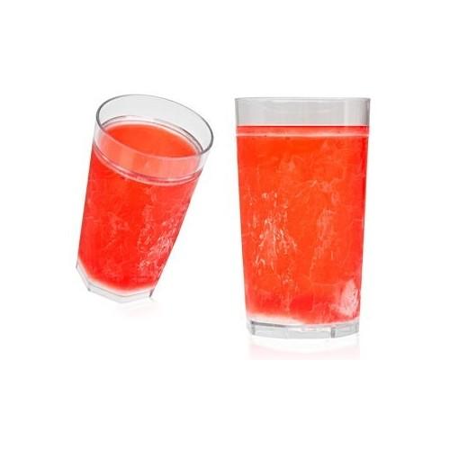 Bicchiere ghiaccio refrigerante bevande al fresco