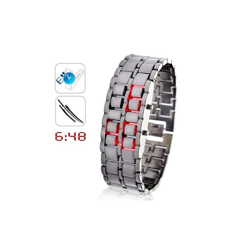 Orologio Samurai braccialetto a led