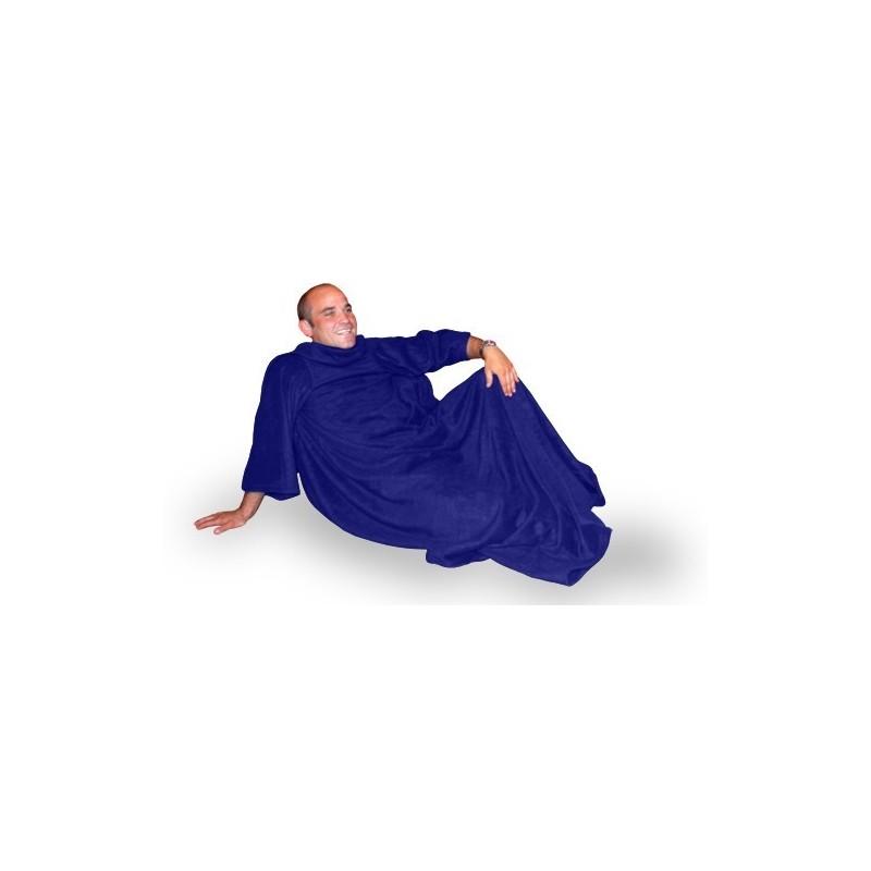 La coperta con le maniche soffice e comoda