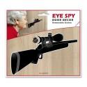 Decorazione spioncino sicurezza porta adesivo rimovibile