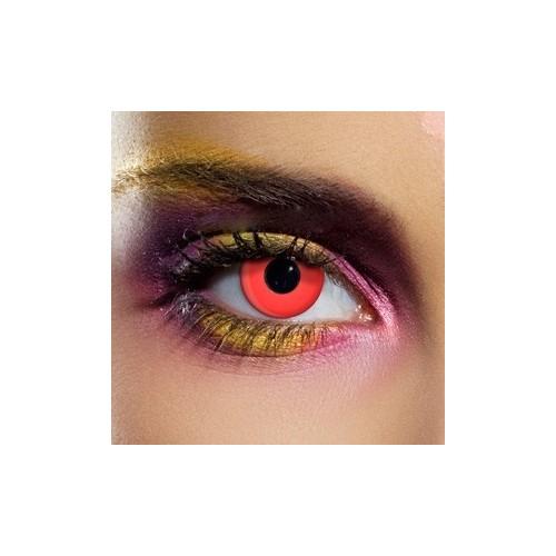 Lenti a contatto colorate rosse occhi Rossi