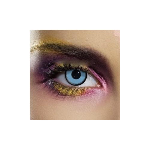 Lenti a contatto colorate Saw BLU