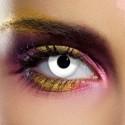 Lenti a contatto colorate bianco occhi bianchi