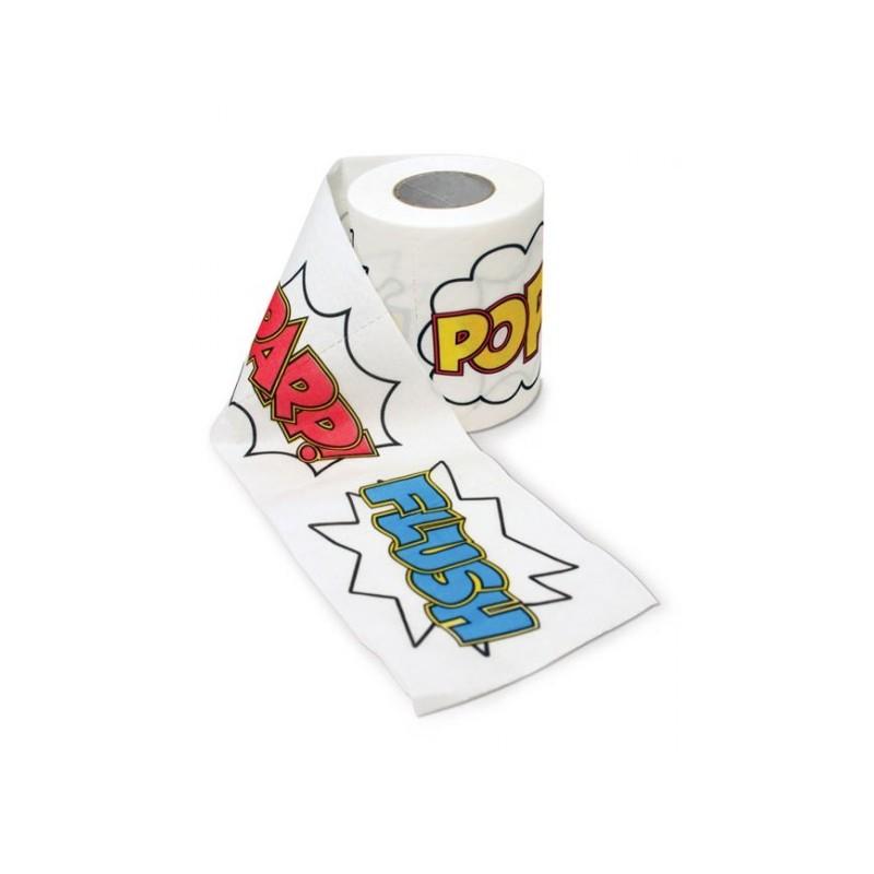 Rotolo Carta igienica fumetto