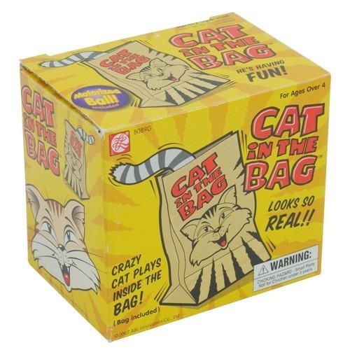 Gatto nel sacchetto