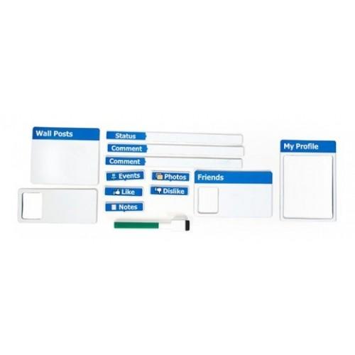 FrigoBook Magneti da frigo Facebook