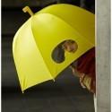 Ombrello sottomarino giallo