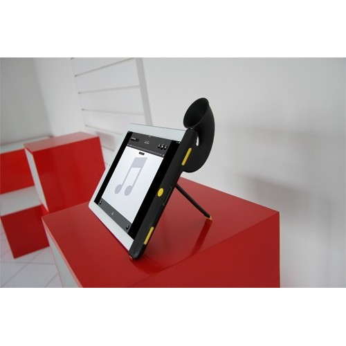 Cornetta amplificazione porta iPad2 iPad3