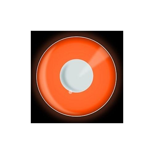 Lenti a contattto colorate UV arancioni