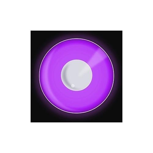 Lenti a contattto colorate UV viola