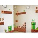Decorazione autoadesiva Super Mario