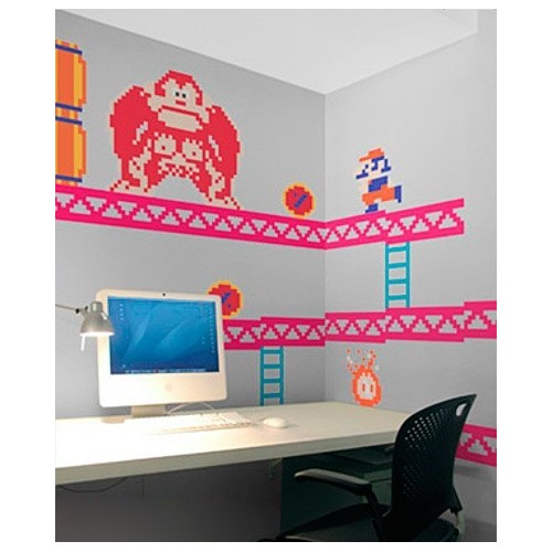 Decorazione autoadesiva Donkey Kong