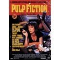 Pulp fiction poster 3D