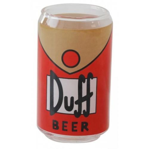 Bicchiere birra Duff Simpsons 6 pezzi
