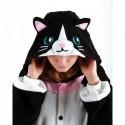 Pigiama intero giapponese KIGURUMI Gatto nero