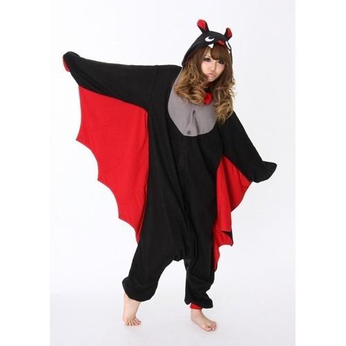 Pigiama intero giapponese Kigurumi Pipistrello Halloween