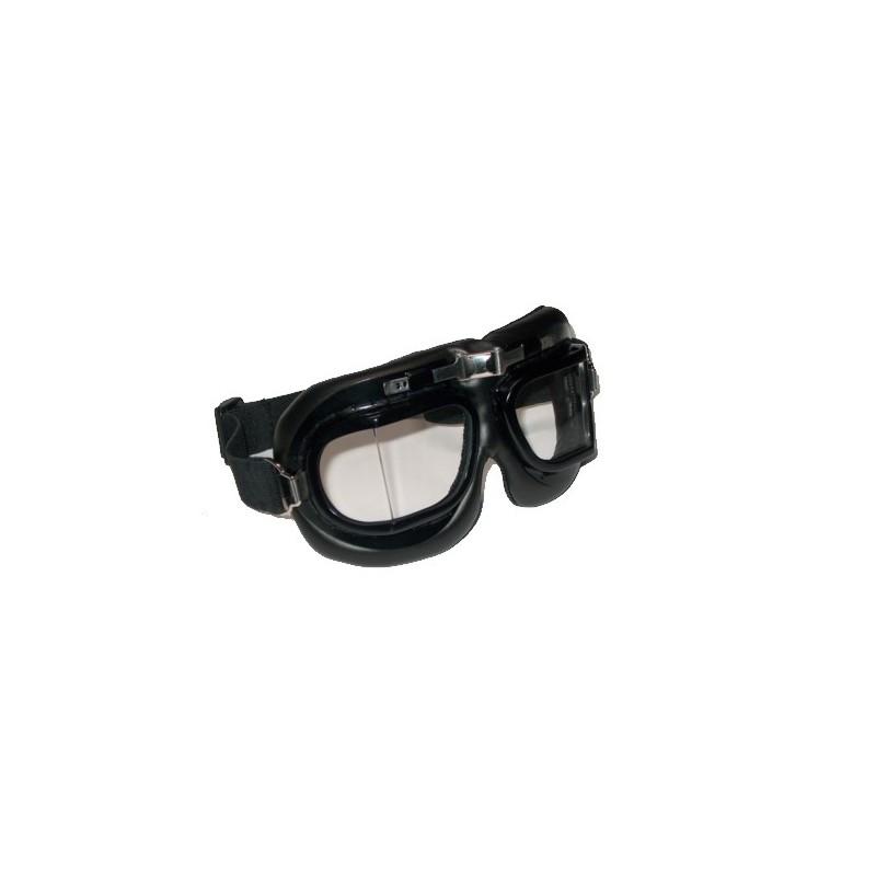 Ciuccio Pirata nero con teschio fluorescente