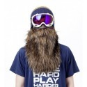 Maschera Neoprene Barba Snowboard Moto Sci