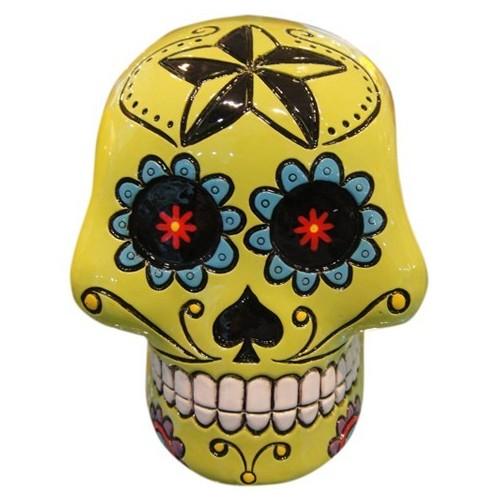 Salvadanaio Teschio Calaveras Sugar Skull