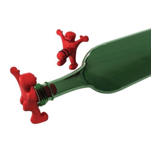 HAPPY MAN uomo felice tappo per bottiglie di vino e liquori