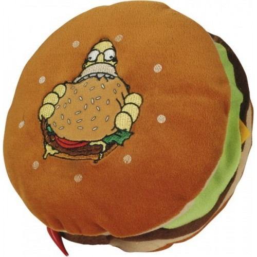 Simpsons cuscino Hamburger