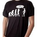 T-shirt evoluzione STOP FOLLOW ME