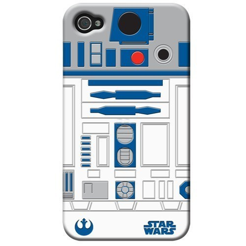 Custodia protettiva Iphone 4 R2 D2 Star Wars