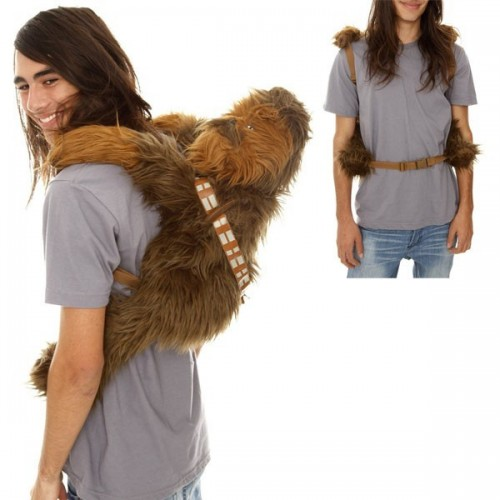 Star Wars zainetto Chewbacca peluche