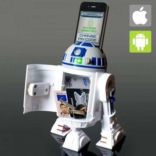 R2-D2 Salvadanaio Interattivo Smartphone Star Wars