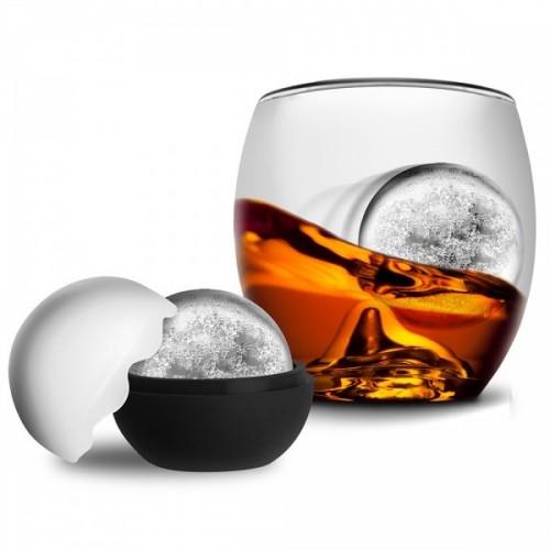Bicchiere RockGlass con Palla di Ghiaccio