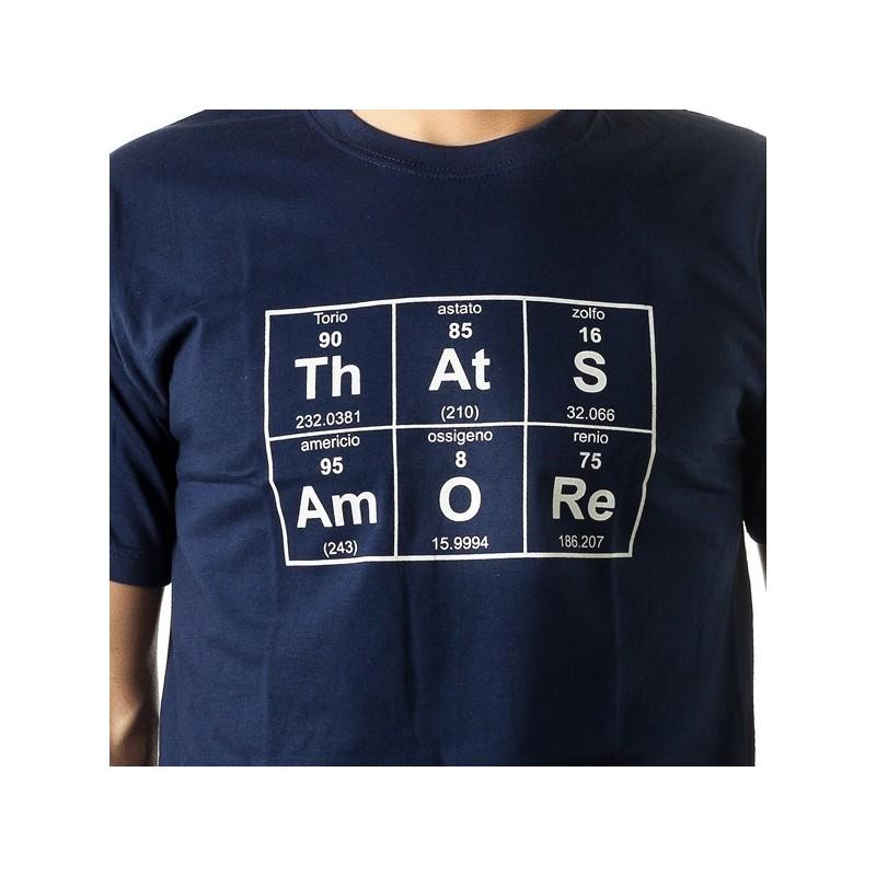 T-shirt ThAtSAmORe tavola periodica