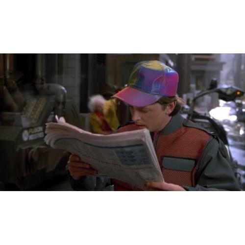Cappellino Martin McFly ritorno al futuro replica