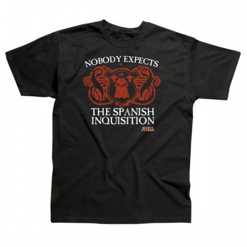 Maglietta Monty Python T-shirt Spanish Inquisition