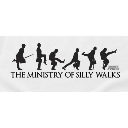 Maglietta Monty Python T-shirt Ministry Silly Walks