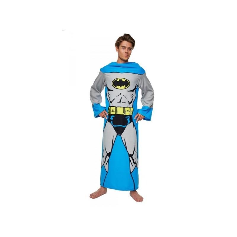 Coperta con le maniche Batman in pile