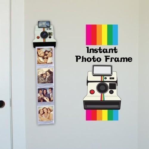 Porta foto polaroid cornice da muro