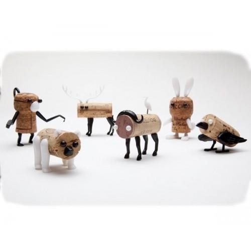 Animali Tappi di Sughero