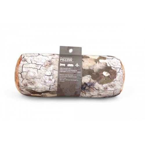 Cuscino da viaggio tronco legno di platano